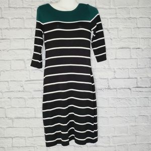 Allison Brittney Green and Black Dress/Tunic